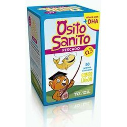 OSITO SANITO PESCADO OMEGA 3 50 GELATINAS MASTICABLES
