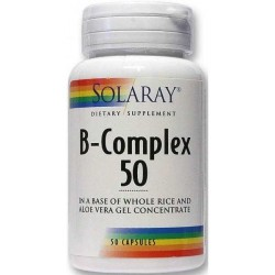 VITAMINA B COMPLEX 50 CÁPSULAS SOLARAY