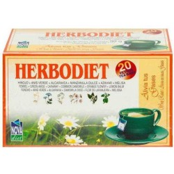 Herbodiet Alivia Tus Gases Nova Diet 20 filtros herbolariomalvarosa.com