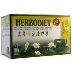 Herbodiet Depuración Hepática Nova Diet 20 filtros herbolariomalvarosa.com