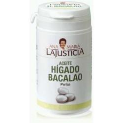 Aceite Higado de Bacalao 90 perlas Lajusticia